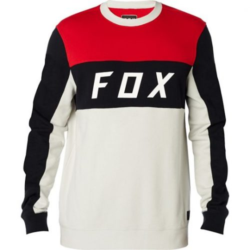 FOX HELLBENT CREW FLEECE LT GRY