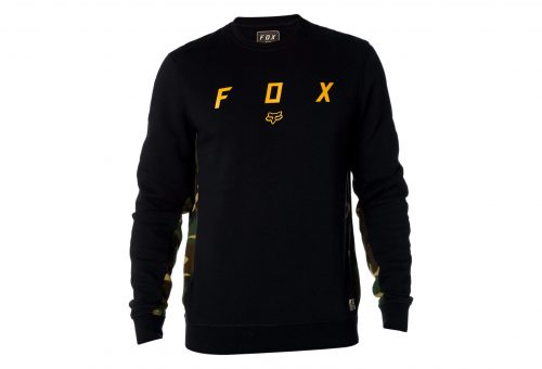 FOX HARKEN CREW FLEECE BLK