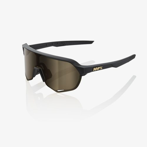 100% S2 – Matte Black | Lente Soft Gold