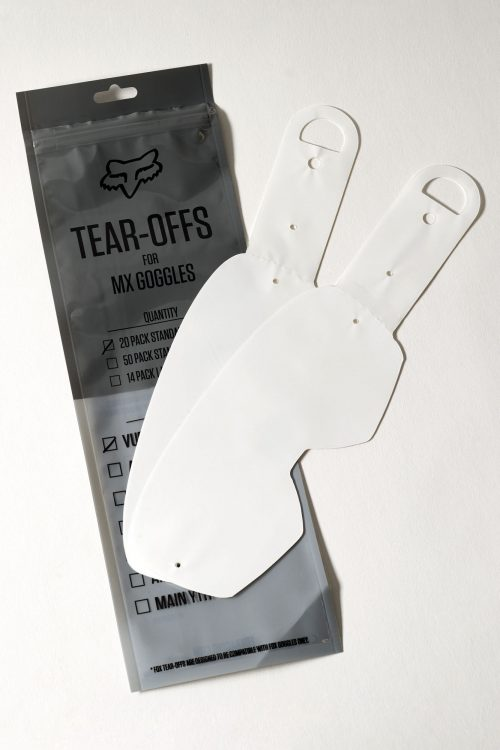 FOX Airspace/Main II Std Tear Off-20pk