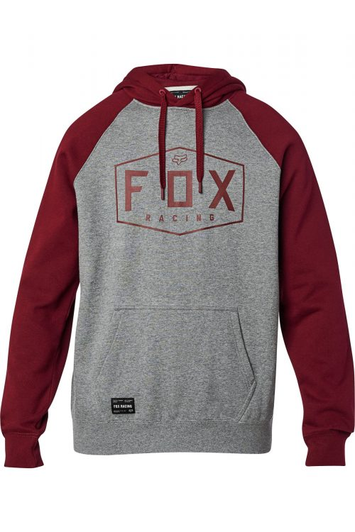 FOX Felpa Crest Heather Graphite