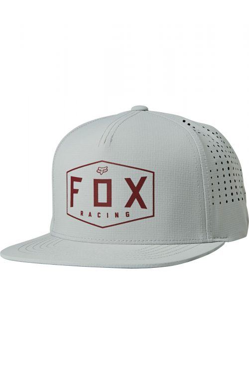 FOX Cappellino Regolabile Crest Gray/Red